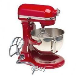 KitchenAid RKV25GOXER Professional 5 Plus 5-Quart Stand Mixer, Empire Red