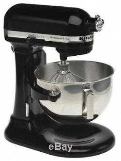 KitchenAid RKV25GOXOB Professional 5 Plus 5-Quart Stand Mixer, onyx Black