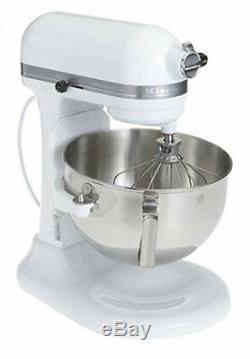 KitchenAid RKV25GOXWH Professional 5 Plus 5-Quart Stand Mixer, White