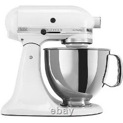KitchenAid RRK150WH White 5-quart Artisan Stand Mixer (Refurbished) RRK150WH