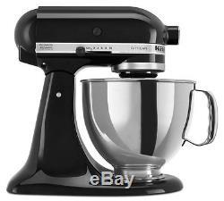 KitchenAid RRK150ob Black 5-quart Artisan Stand Mixer (Refurbished) RRK150OB