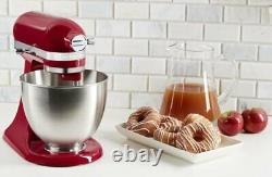 KitchenAid Refurbished 3.5-Quart Artisan Mini Tilt-Head Stand Mixer Empire Red