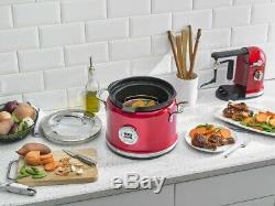 KitchenAid Refurbished 4-Quart Multi-Cooker Candy Apple Red