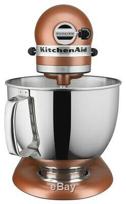 KitchenAid Refurbished 5-Quart Artisan Tilt-Head Stand Mixer Copper Pearl