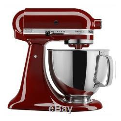 KitchenAid Refurbished 5-Quart Artisan Tilt-Head Stand Mixer Gloss Cinnamon