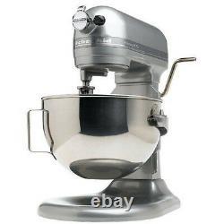 KitchenAid Stand Mixer 475 -W 10-Speed 5-Quart RKg25h0XSL Silver Professional HD