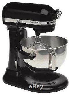 KitchenAid Stand Mixer 475 -W 10-Speed 5-Quart RKg25hOXOB Black Professional HD