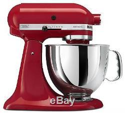 KitchenAid Stand Mixer tilt 5-Quart ksm150pser Artisan Red Authorized Reseller