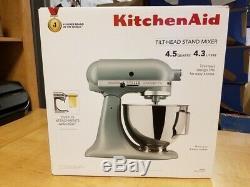 Kitchenaid Tilt-head 4.5 Quarts Stand Mixer, Matte Fog Blue