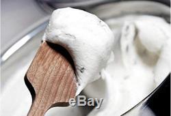 Lello 4080 Musso Lussino 1.5-Quart Ice Cream Maker, Stainless