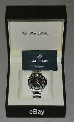 Men's Tag Heuer Formula One 42mm Quarts and Stainless Steel Watch WAC1110