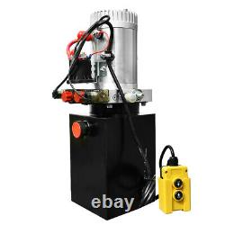 NEW Hydraulic Power Unit Double Acting 12V DC Dump Trailer 6 Quart with Remote