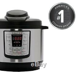 NEW Instant Pot 6 in 1 Programmable Pressure Cooker 6 Quart Instapot LUX60 V3