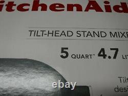 NEW KitchenAid 5 Quart Tilt-Head Stand Mixer, Pebbled Palm (KSM150PSTPP)