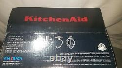 NEW KitchenAid Deluxe 4.5 Quart Tilt-Head Stand Mixer Mineral Water Blue KSM97MI