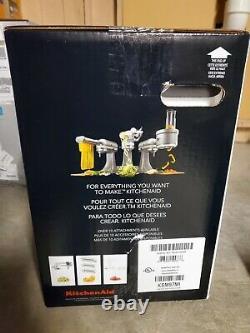 NEW KitchenAid Deluxe 4.5 Quarts Tilt-Head Stand Mixer KSM97MI Mineral Water