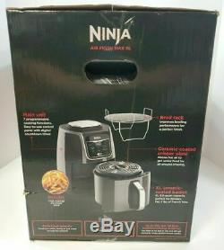 New Ninja Af161 Max Xl Air Fryer 5 5 Quart Grey Max Crisp Fry