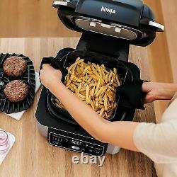 NINJA FOODI 4 QUART 5 in 1 INDOOR ELECTRIC GRILL AIR FRYER ROAST BAKE DEHYDRATE