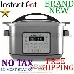 New INSTANT POT Aura Pro 8qt Quart MULTICOOKER 10 Program Nonstick Delay Start