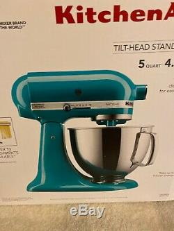 New KitchenAid Artisan Series 5 Quart Stand Mixer KSM150PSON Ocean Drive