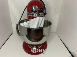 New KitchenAid Artisan Series 5 Quart Tilt-Head Stand Mixer Empire Red #A47