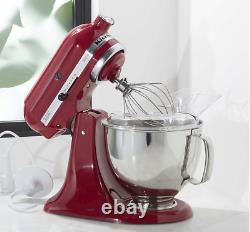 New KitchenAid Artisan Series 5 Quart Tilt-Head Stand Mixer Red