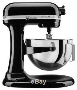 New KitchenAid KG25H0X Professional Plus 5-Quart Stand Mixer, Red, Silver, Black