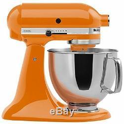 New KitchenAid Ultra Power KSM95tg 10speed Stand Mixer 4.5-quart Tangerine