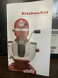 New Silver KitchenAid Pro 5 Plus 5 Quart Bowl-Lift Stand Mixer! $449.99 NEW