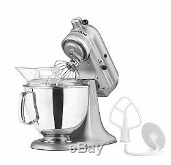 NewithSealed KitchenAid Artisan KSM150PS 5 Quart Stand Mixers All Metal Silver