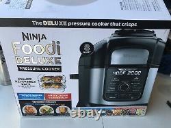Ninja FD401 Foodi 8-Quart 9-in-1 Deluxe XL Pressure Cooker Air Fryer Stainless
