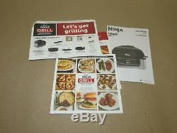 Ninja Foodi 5-in-1 Indoor Grill with4-Quart Air Fryer with Roast, Bake, Dehydrate