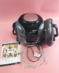 Ninja Foodi 6.5 Quart Food Steamer Multi-Cooker Air Fryer Stainless Steel #U3605
