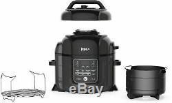 Ninja Foodi 8-Quart Pressure Cooker/Air Fryer/Tender Crisper Black