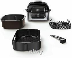 Ninja Foodi AG301 5-in-1 Indoor Electric Countertop Grill with 4-Quart Air Fryer