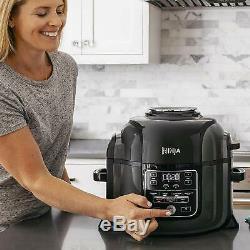 Ninja Foodi TenderCrisp 6.5-Quart Pressure Cooker, Air Fryer OP300 OP301 1400W