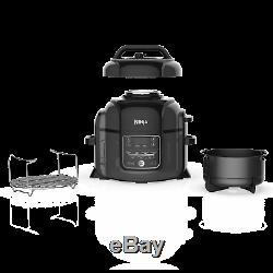 Ninja Foodi TenderCrisp 6.5-Quart Pressure Cooker, OP300 (Black)