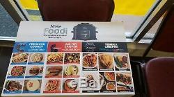 Ninja OP302 Foodi 6.5 Quart TenderCrisp Pressure Cooker Black/Gray