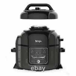 Ninja OP302 Pressure Cooker Steamer 6.5 quart TenderCrisp Technology Air Fryer