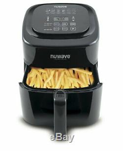 NuWave Brio Digital Air Fryer 6 Quart Black