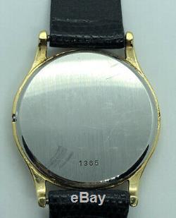 OMEGA DeVille Thin Elegant Swiss Mens Vintage Watch Quarts Movement