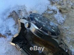 Omega Seamaster Professional 300m Blue Wave Quarts 41mm Dive Watch