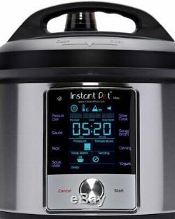 Original Instant Pot Max 6-Quart Programmable, Best Pressure Cooker and New