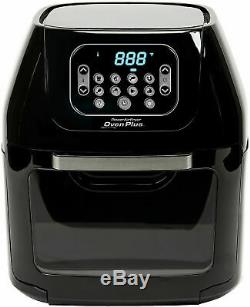 Power Air Fryer Oven All-In-One 6 Quart Plus Dehydrator Grill Rotisserie 6QT