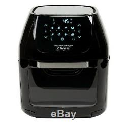 Power Air Fryer Oven Plus 6 Quarts Black As Seen On TV AirFryer Oven NEW
