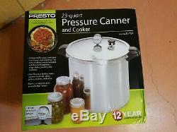 Presto 01781 23-Quart Qt. Aluminum Pressure Canner and Cooker