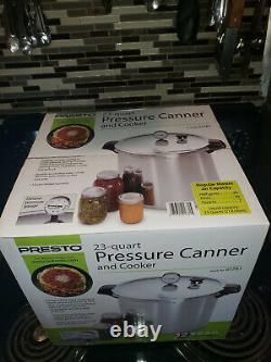 Presto 23-Quart Pressure Canner And Cooker Brand New Original Box Model 01781