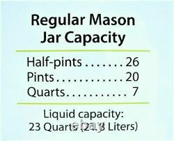 Presto 23 Quart Pressure Canner Cooker 01781 NEW FAST SHIPPING Canning Mason Jar