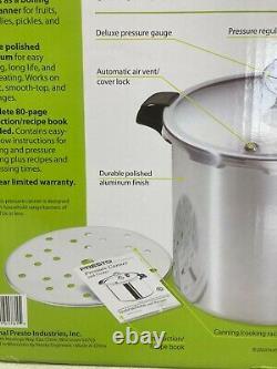 Presto 23 Quart Pressure Canner & Cooker. Extra Strong Aluminum
