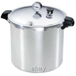 Presto 23-Quart Pressure Canner + Cooker Stove Top Pot Boiling Water Pot + Gauge